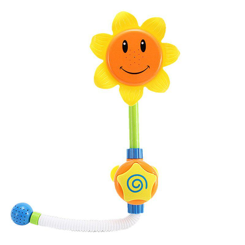 Cheap Baby Funny Water Game Bath Toy Sunflower Shower Faucet