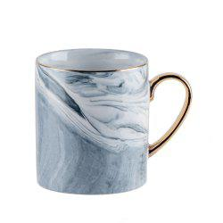 1 Piece Marbling Ceramic Coffee Cup -
