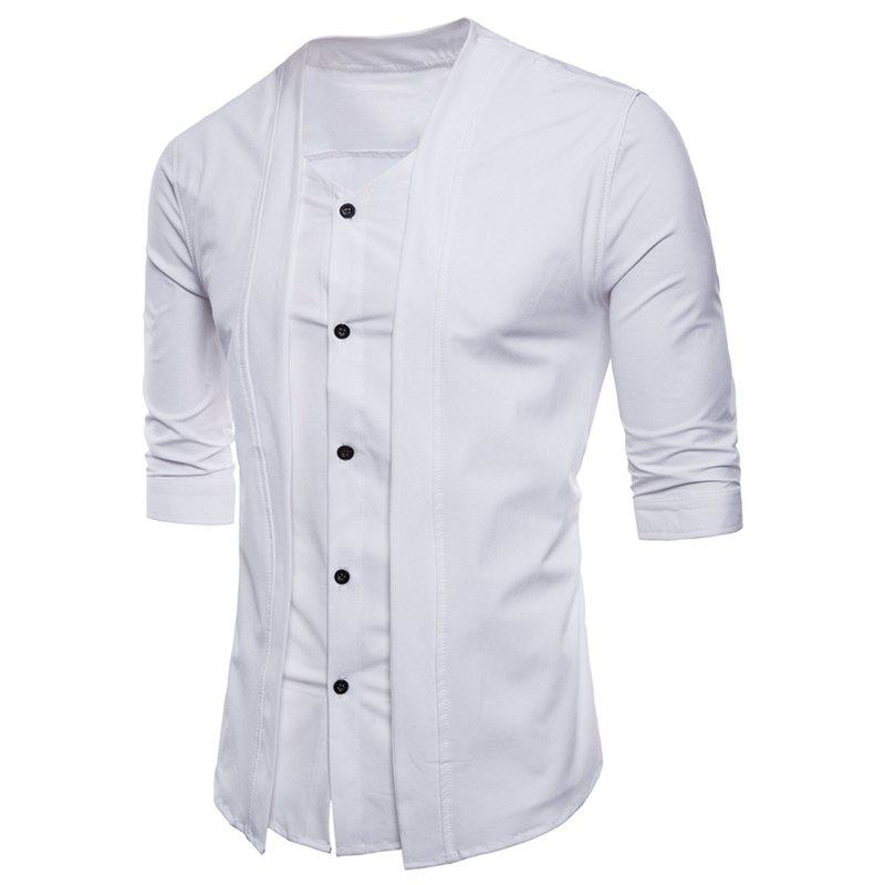 Chic Men's Seven - Minute Sleeves Shirt