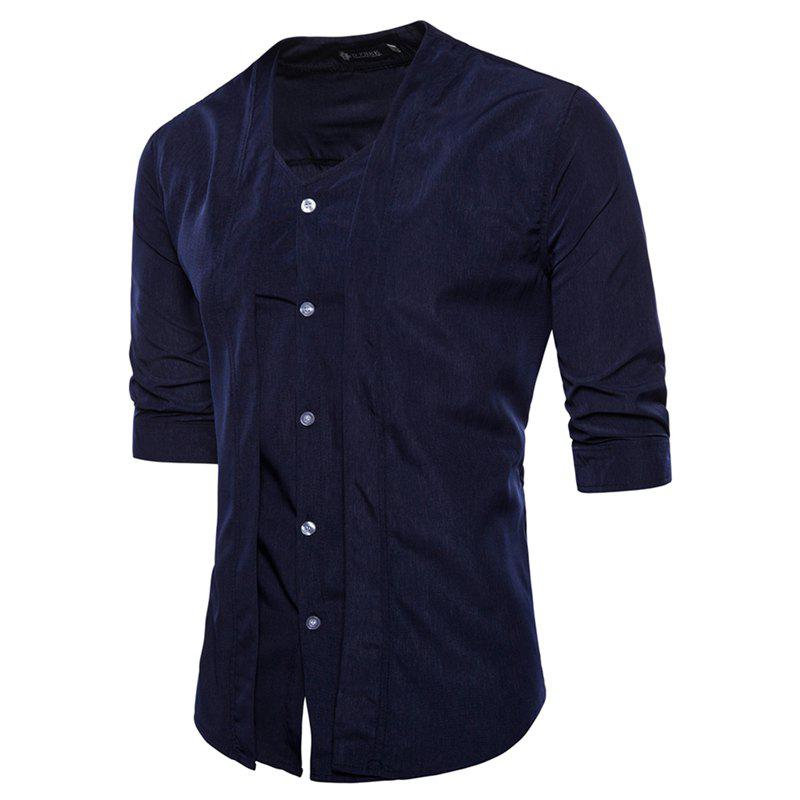 Affordable Men's Seven - Minute Sleeves Shirt
