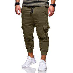 Men's Casual Fashion Trend Slim Pants Sweatpants -