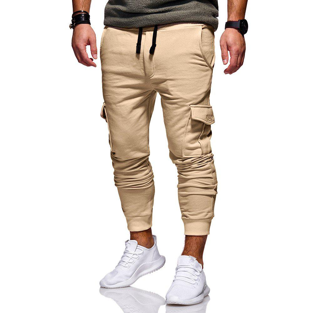 Store Men's Casual Fashion Trend Slim Pants Sweatpants
