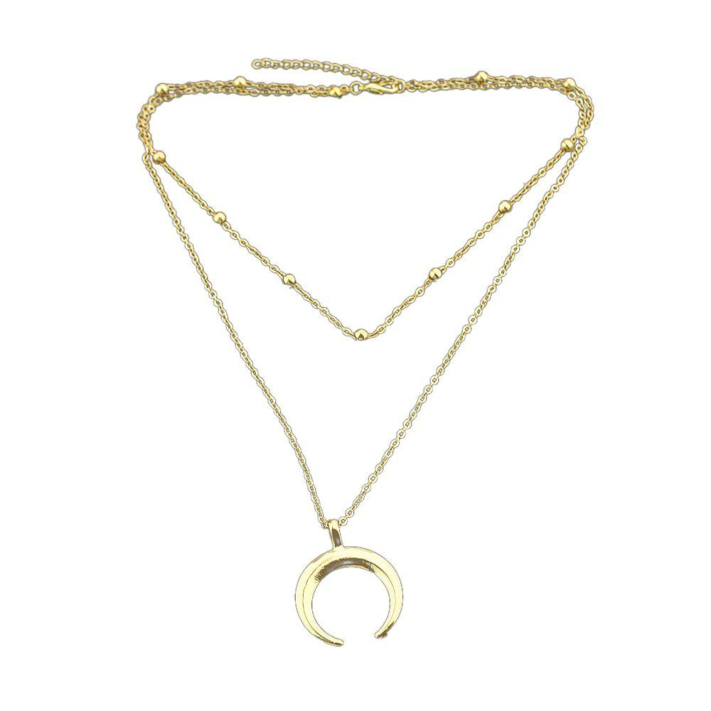 Outfit Multi Layers Long Chain Necklace