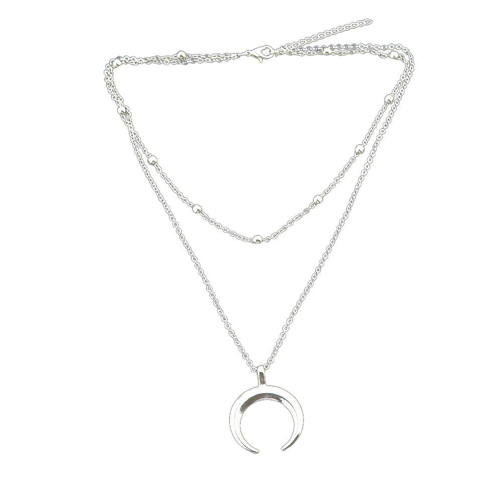 Online Multi Layers Long Chain Necklace