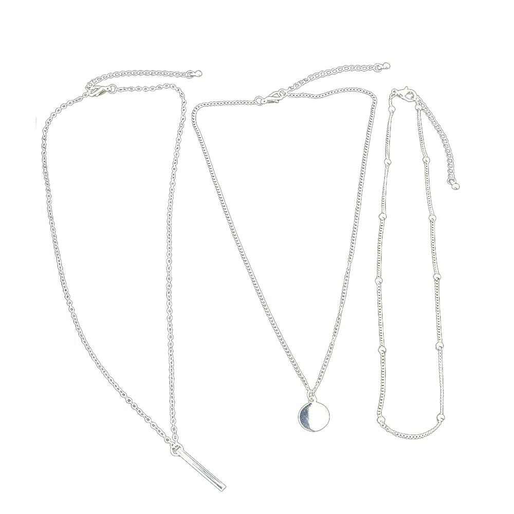 Buy Fashion Long Multi Layers Chain Necklace