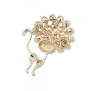 Broche de luxe de chat mignon de mode -