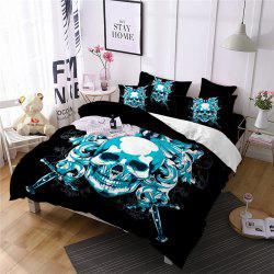 AS105-B Oath Sword Skeleton Pattern Decoration Bedding Set -