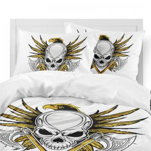 AS108-A  Weapon Axe Fear Personality Decorative Pattern Bedding Set -