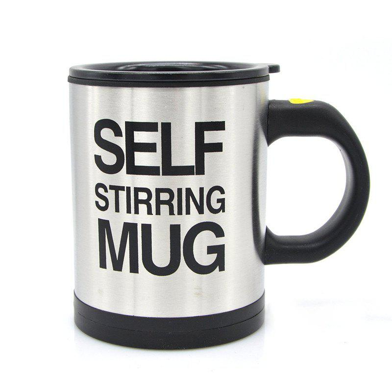 Fashion 400ML Self Stirring Mug Double Insulated Automatic Electric Coffee Cup