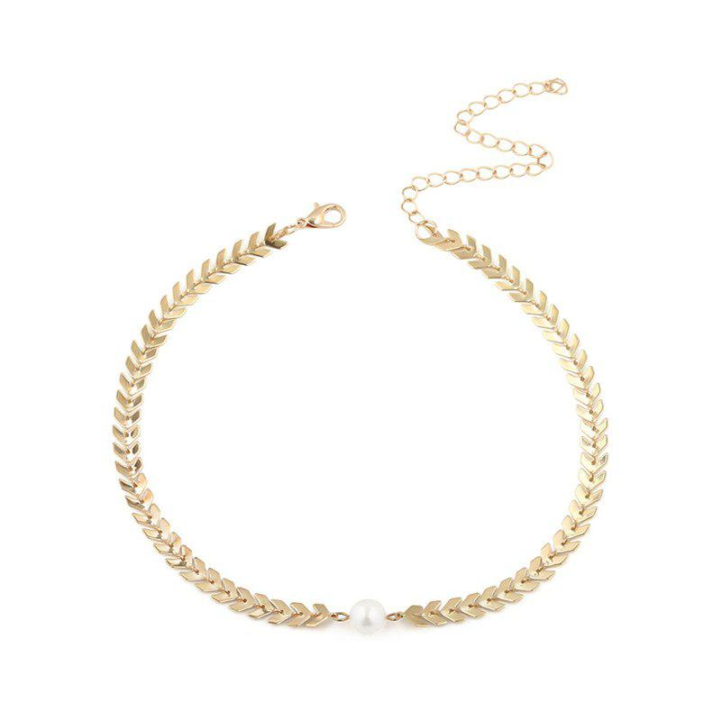 Affordable Simple and Simple Pearl Pendant Necklace