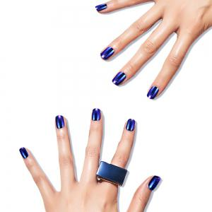 Simple Metallic Color Nail Patch One Box -