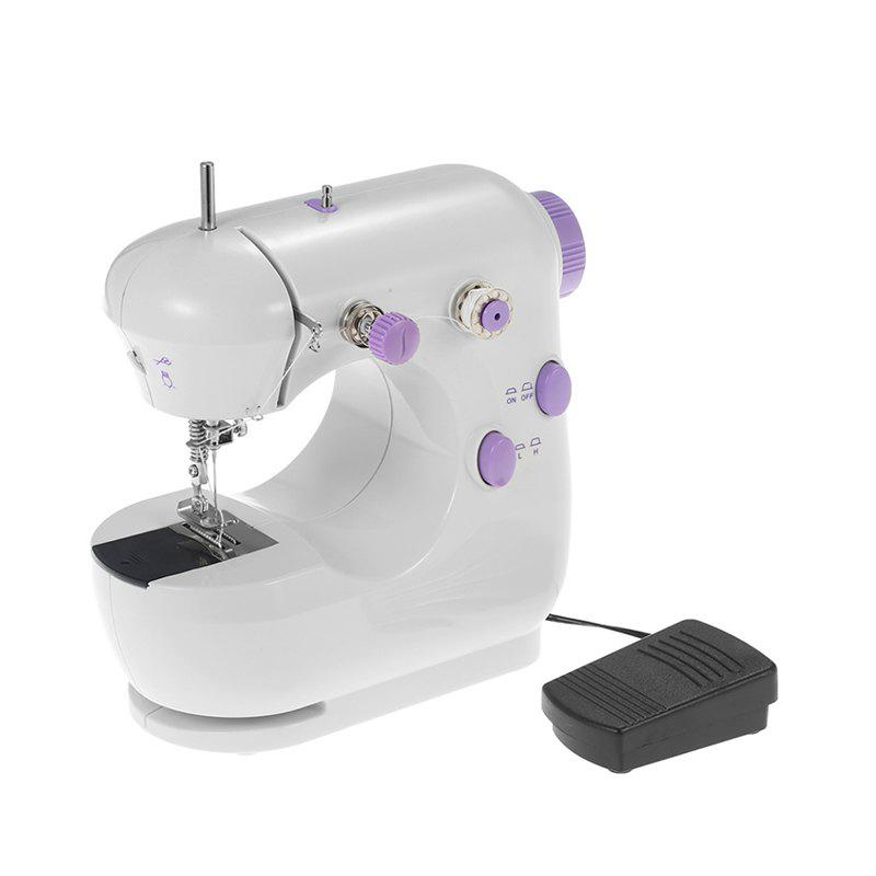Outfits Electric Household Sewing Machine Adjustable High Low Speed with Foot Pedal