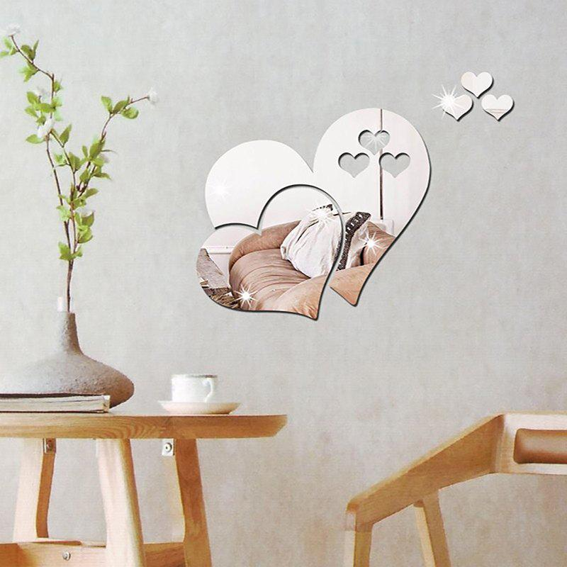 Sale Three-dimensional Stereoscopic Heart-Shaped Wall Decal Sticker