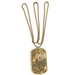 New Style Steampunk Gear Pendant Necklace -