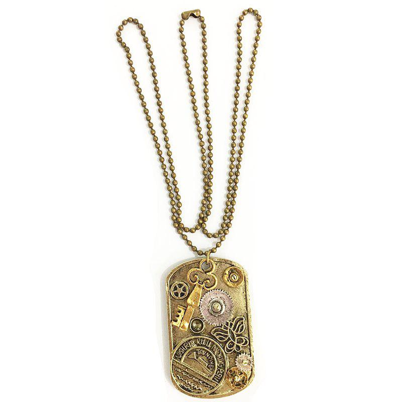 Shop New Style Steampunk Gear Pendant Necklace
