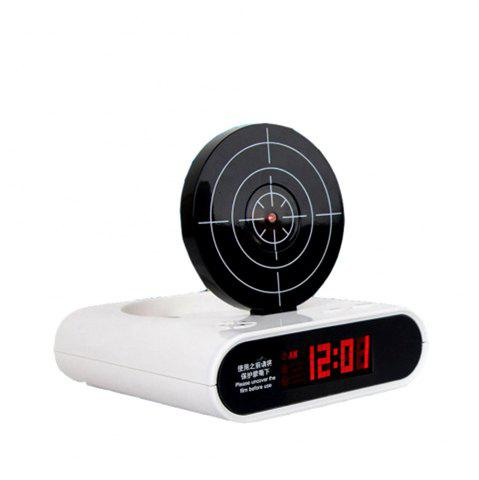 Buy Creative Target Toy LED Red Word Display Mute Alarm Clock