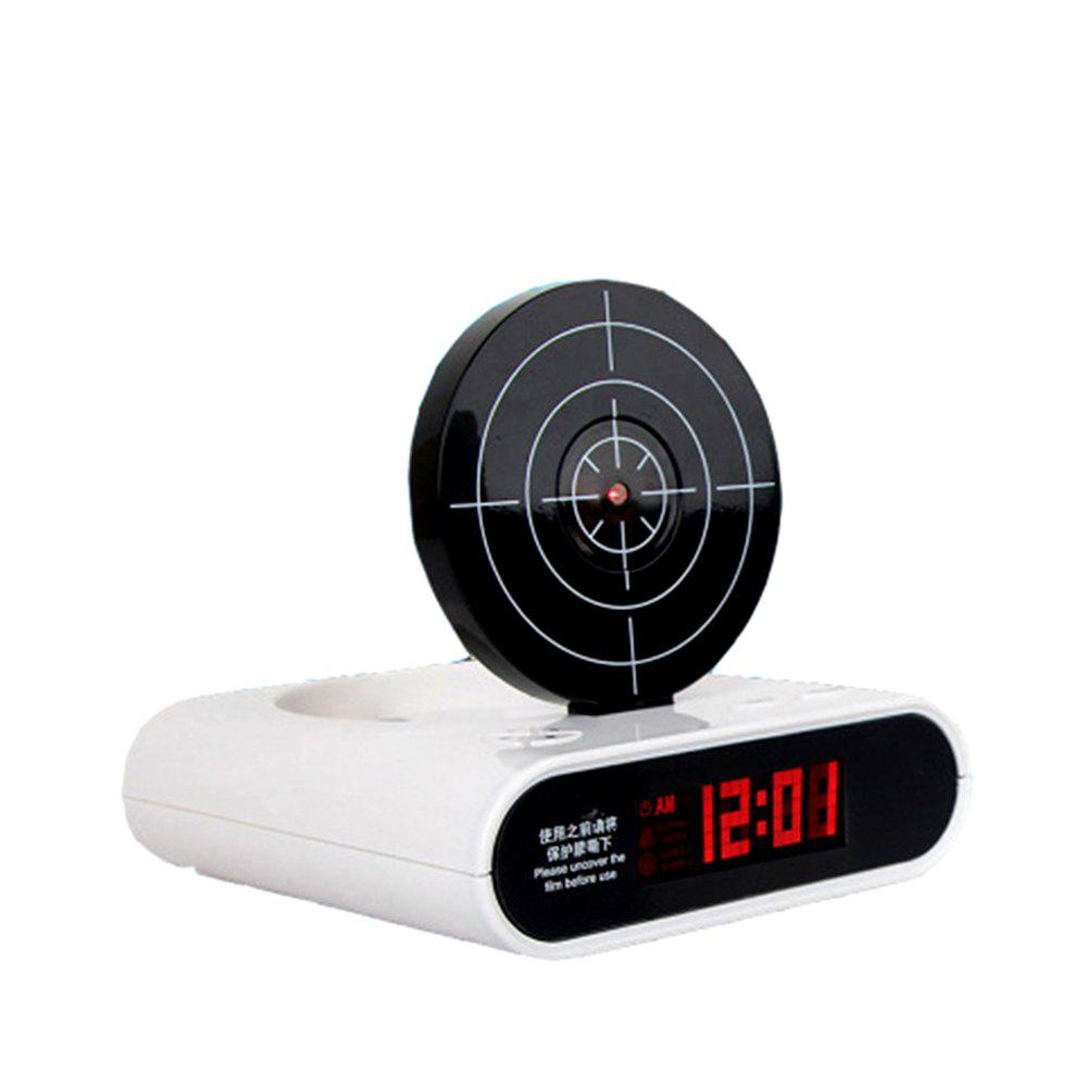Creative Target Toy LED Red Word Display Mute Будильник