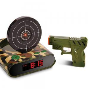 Creative Target Toy LED Red Word Display Mute USB Alarm Clock -
