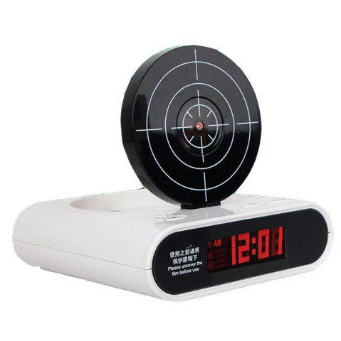 Online Creative Target Toy LED Red Word Display Mute USB Alarm Clock