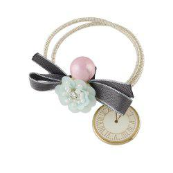 Multicolor Flower Bowknot Hairband -