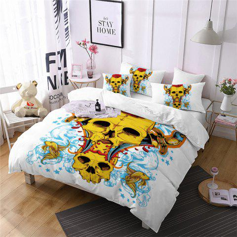 Best AS107-A Rose Fear Personality Decorative Pattern Bedding Set