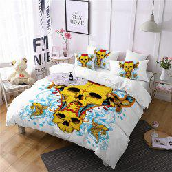 AS107-A Rose Fear Personality Decorative Pattern Bedding Set -