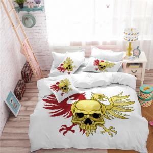 AS110-A Eagle Fear Personality Decorative Pattern Bedding Set -