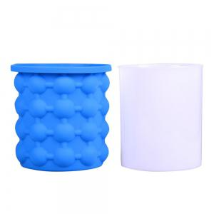 Ice Cube Maker Silicone Bucket Tray Can for Chilling Beer Whiskey -