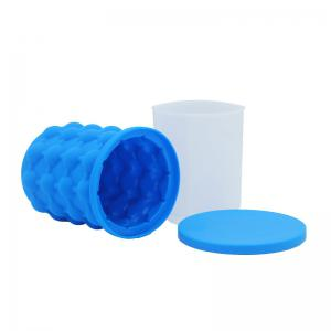 New Ice Cube Maker Silicone Bucket Kitchen Tools Cubes Machine Refillable -