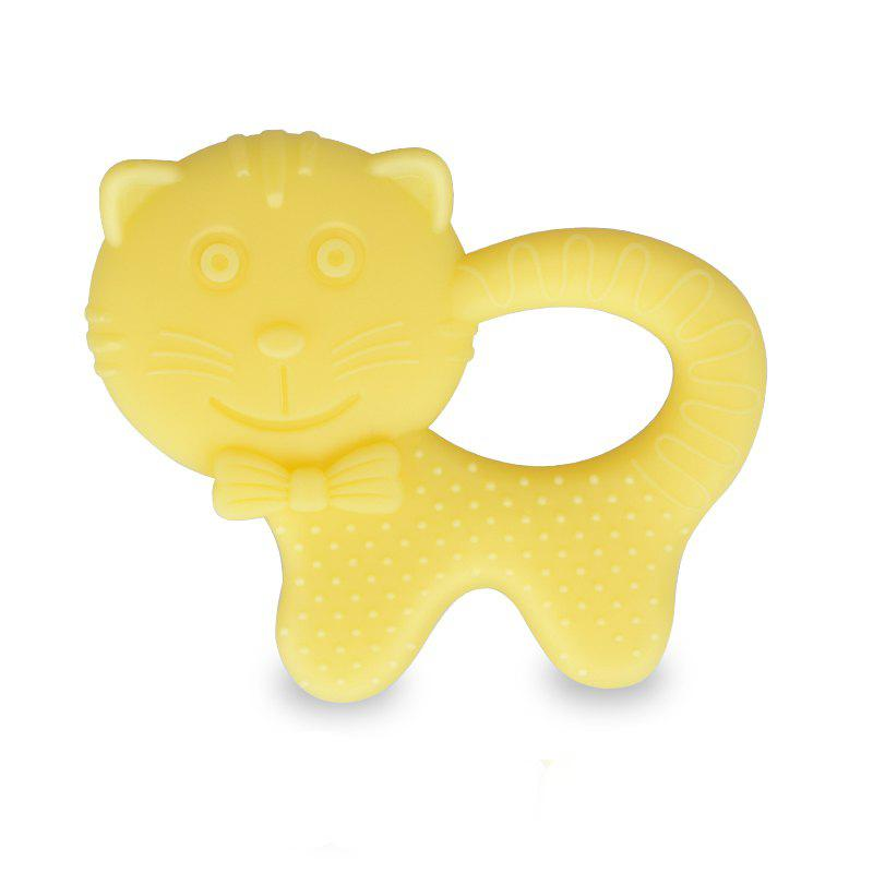 Latest Cartoon Cat Baby Silicone Chew Teethers