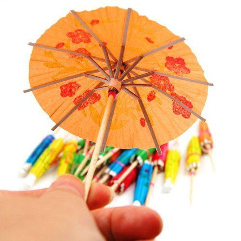 Affordable Paper Cocktail Parasols Umbrellas Drinks Picks Wedding Event Party Supplies 50PS
