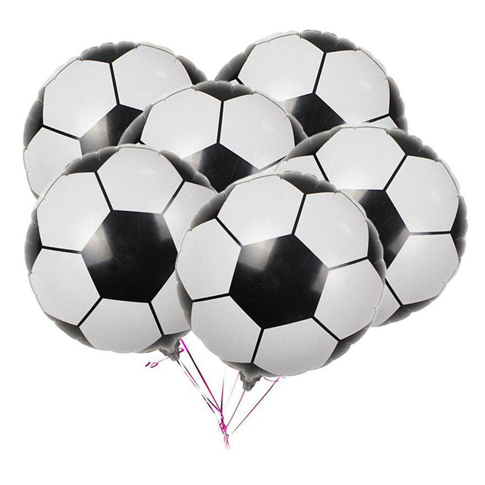Sale 10PCS Aluminum Foil Football Balloons for Birthday Party Decorations