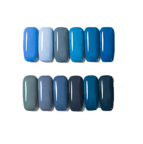 Online 12 Color Nail Polish Gel Varnish Lacquer Design Set Manicure Kit