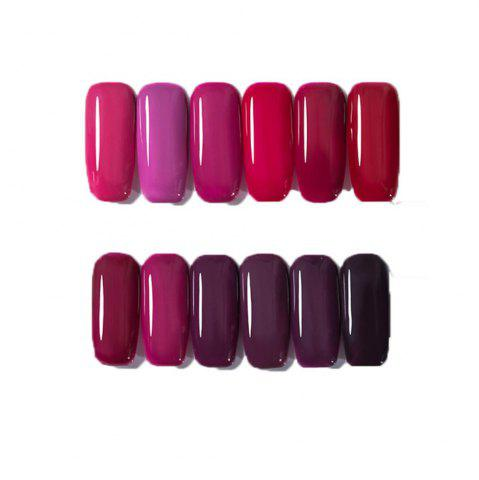 Outfits 12 Color Nail Polish Gel Varnish Lacquer Design Set Manicure Kit