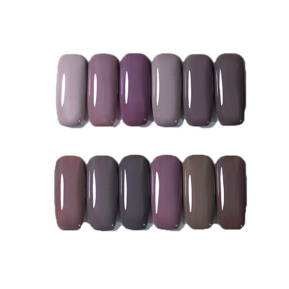 Shop 12 Color Nail Polish Gel Varnish Lacquer Design Set Manicure Kit