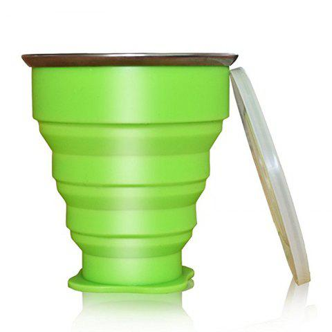 Discount Collapsible Travel Mug Silicone Unique Camping Gear Supplies Accessor