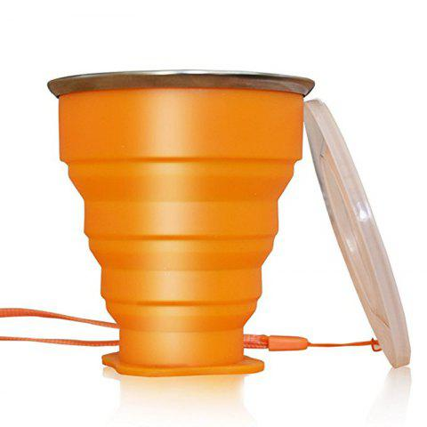 Store Collapsible Travel Mug Silicone Unique Camping Gear Supplies Accessor