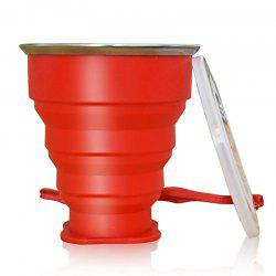 Collapsible Travel Mug Silicone Unique Camping Gear Supplies Accessor -