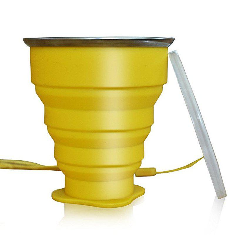 Buy Collapsible Travel Mug Silicone Unique Camping Gear Supplies Accessor