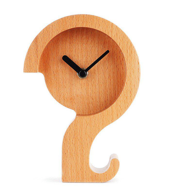 Buy Alarm Clock Wooden  Bedroom Office Desk Travel Kids Heavy Sleepers