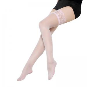 6 Pair of Sexy Knee Socks Lace Silk Stockings -
