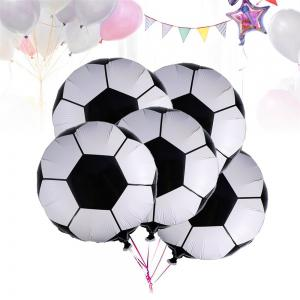 10PCS Aluminum Foil Soccer Balloons for Birthday Party  Decorations -