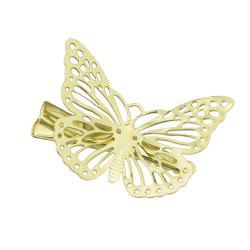 Gold Color Butterfly Clip Hairpins -