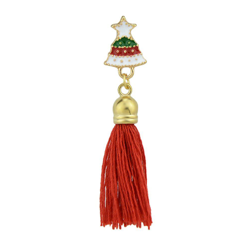 Sale Enamel with Tassel Small Bell Brooches for Women