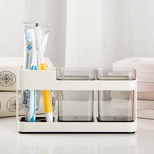 Simple Couple Toothbrush Box Toothbrushes Holder -