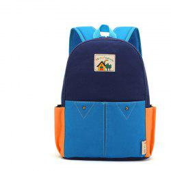 Ruipai TB047 Cute Cartoon Children's Contrast Color Backpack Shoulder Bag -