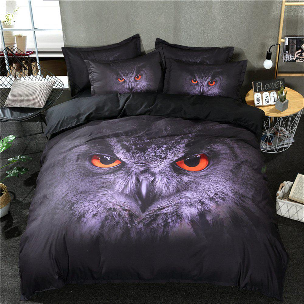 Fashion 3D Starry Wolf Bedding Sets