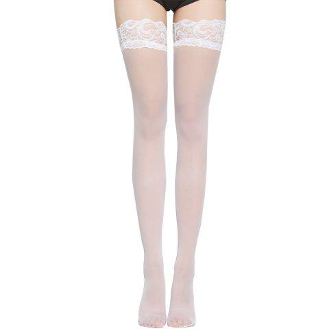 Sale 2 Pair of Sexy Lace Silk Stockings