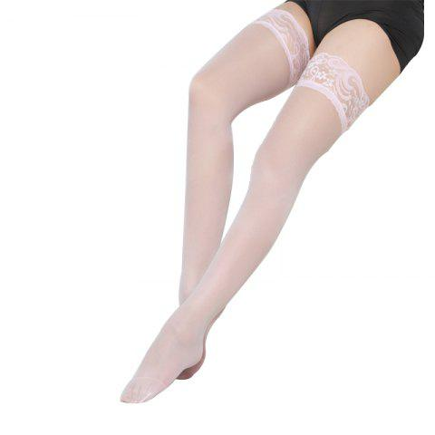 New 2 Pair of Sexy Lace Silk Stockings