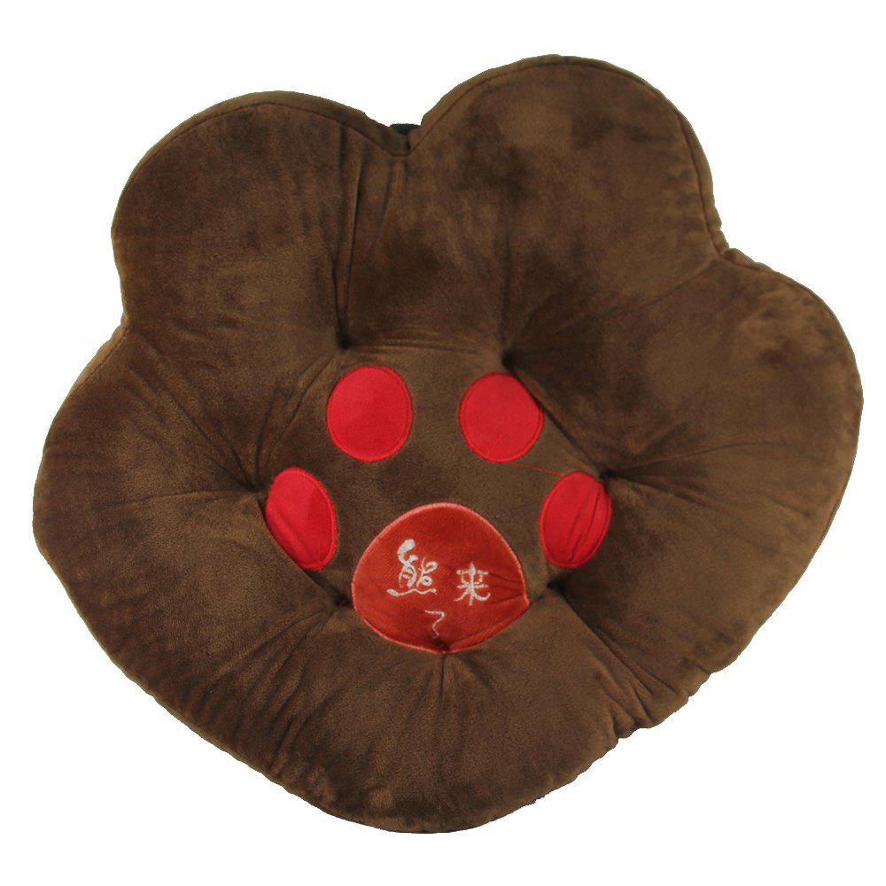 Online Bear Paw Plush Cushion High Quality Sponge Pet Mat